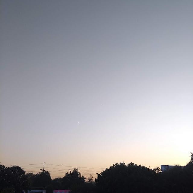 Aeroplane, contrails, aurangabad