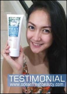 Bukti dan Testimoni Produk Ocean Fresh Beauty Kosmetik