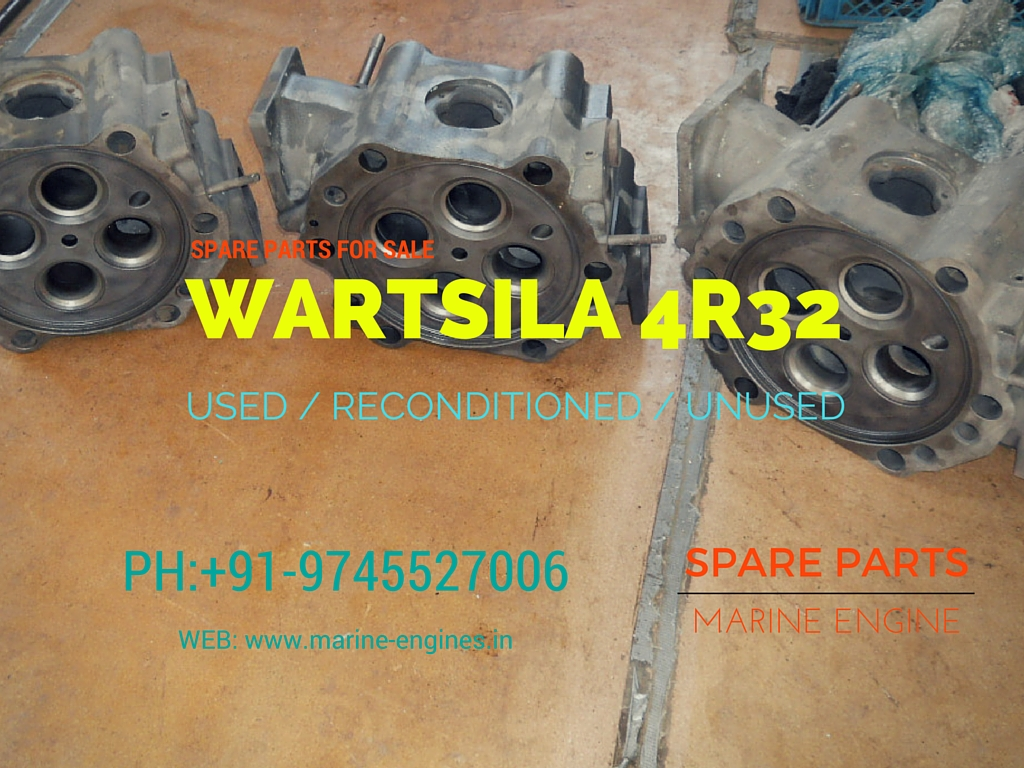 motor, moteur, marina, marine, spare parts, Wartsila, 4R32, engine, generator, used, second hand, ship recycling, ship yard, ready, reusable, recondition, OEM, guaranteed