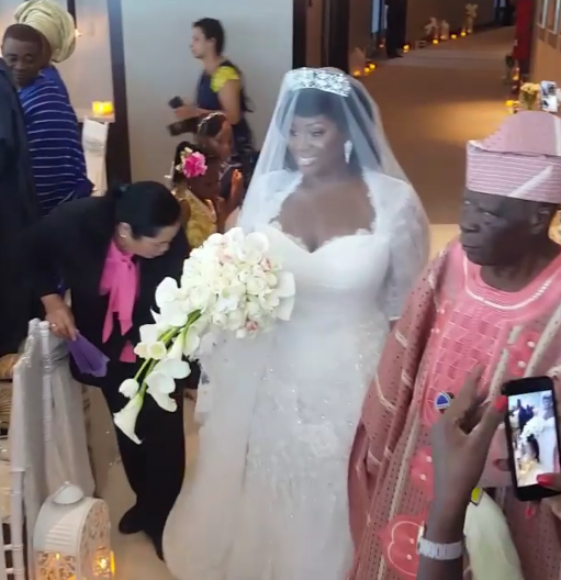 View of Tolu AKA Toolz & Tunde Demuren marriage pictures,2