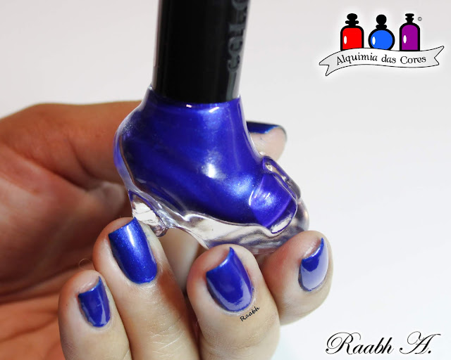 Ushine #17, Azul, Flocado, Glam Polish In Every Generation There is a Chosen One, Teal