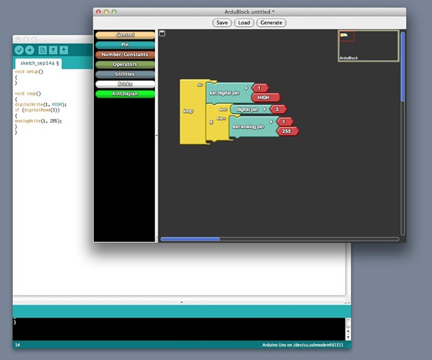 Arduino Easy - ArduBlock - A Graphical Programming Language for Arduino