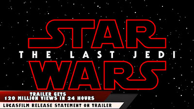 the last jedi trailer viewing figures