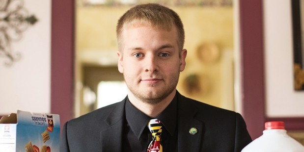 Maryland mayor Brandon Paulin, 21, lives at home, goes to school part time and is on a mission for his hometown