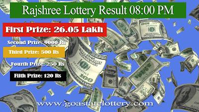 rajshree lottery result, rajshree lottery, goa state lottery, goa lottery result 8pm, goa lottery, goa state lottery result, 8pm today result, online