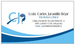Tarjetas de presentación para psicólogos
