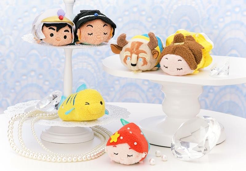 La Puntada De La Princesa Jasmine De Disney Tsum Tsum: Disney Fan Collector: Nuevo Set De Tsum Tsum De Princesas