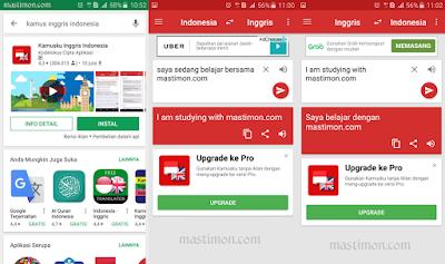 Aplikasi kamus bahasa Inggris Indonesia untuk mempermudah belajar di HP Android
