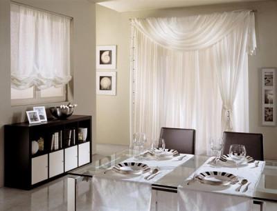 Design interior case apartamente-Perdele draperii living dormitor - Galati