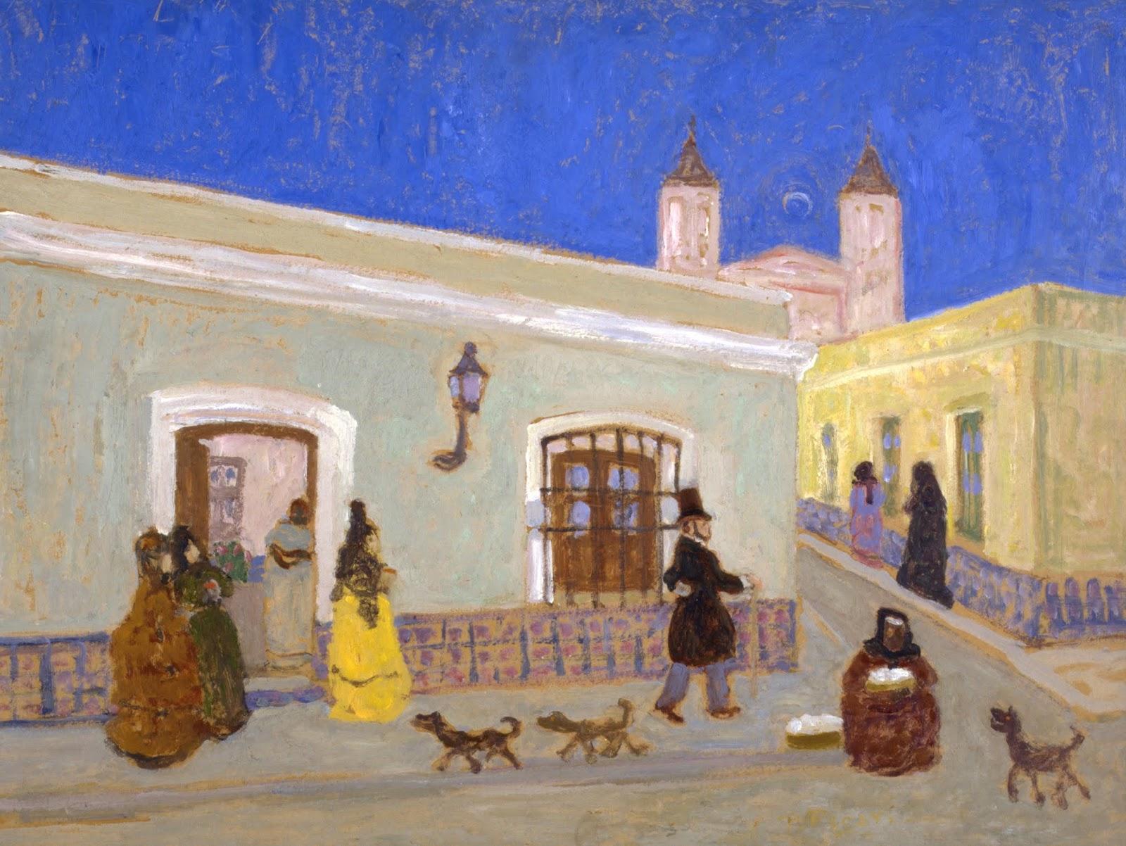 PEDRO FIGARI PINTURAS EN MUSEOS - PAINTINGS IN MUSEUMS