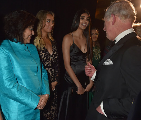 Prince Charles of Wales and Duchess Camilla of Cornwall attended a gala dinner held by the British Asian Trust.