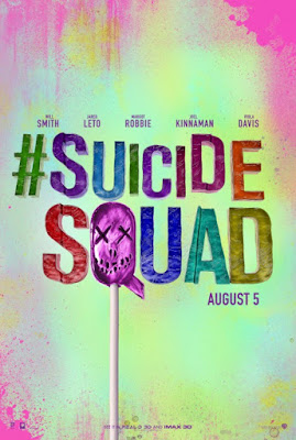 Suicide Squad Lollipop Teaser Theatrical One Sheet Movie Poster