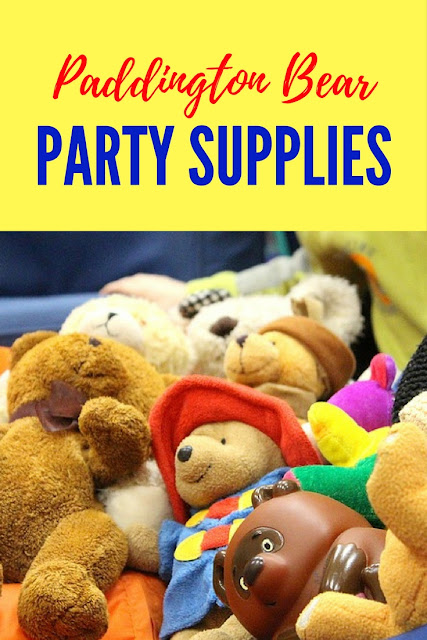 Paddington Bear 2 Party Supplies-paper goods, favors and more