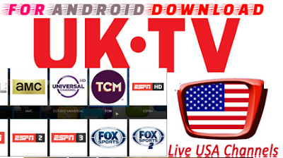 Download Android Live USTV Apk For Watch UK,USA Live Tv on Android