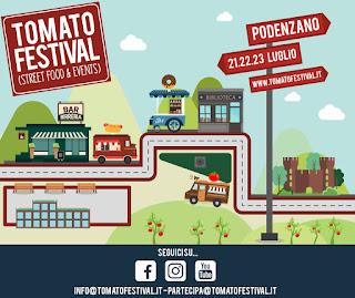 Tomato Festival street food 21-22-23 luglio Podenzano (PC)