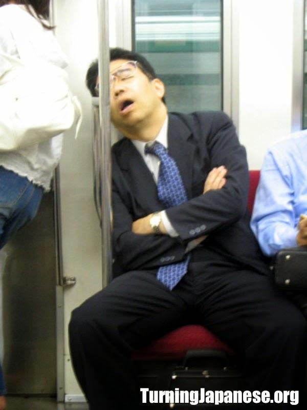 Why Do Japanese People Sleep On Trains Turning Japanese