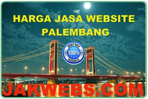 harga jasa pembuatan website palembang