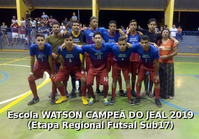 Em Delmiro  Gouveia,  Escola WATSON é a Campeã do JEAL 2019