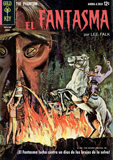 The Phantom (1962-1965) Gold Key / King / Charlton) [El Fantasma]  Aportes de 2020adm