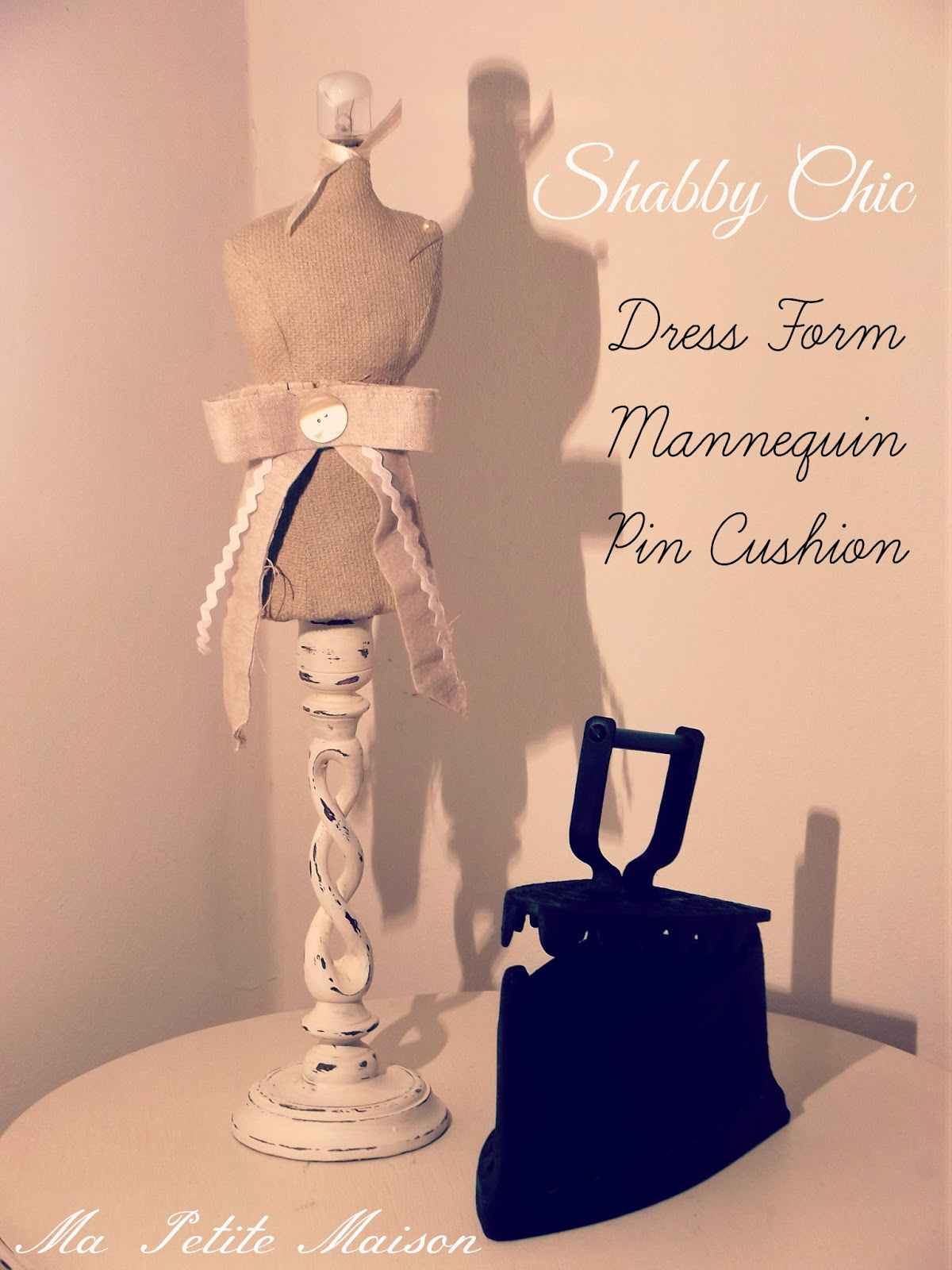 Dress Form Mannequin Pin Cushion