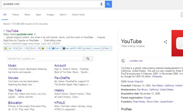 Cara mendapatkan google sitelinks Dengan Cepat Dan Tepat