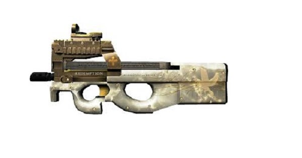 Senjata PB P90 Gold Red  GTAind  Mod GTA Indonesia