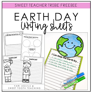 Earth Day Writing Pages