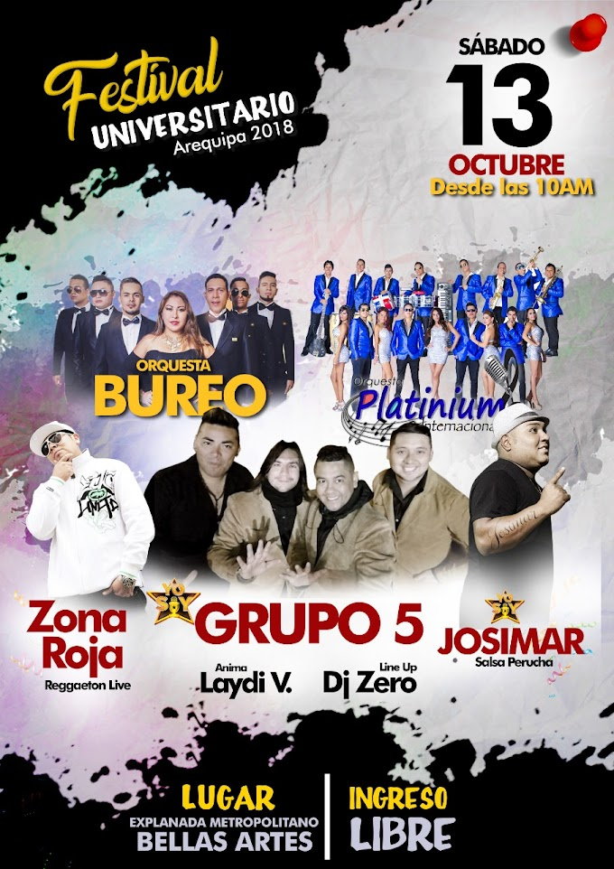 Festival Universitario 2018 - 13 de octubre
