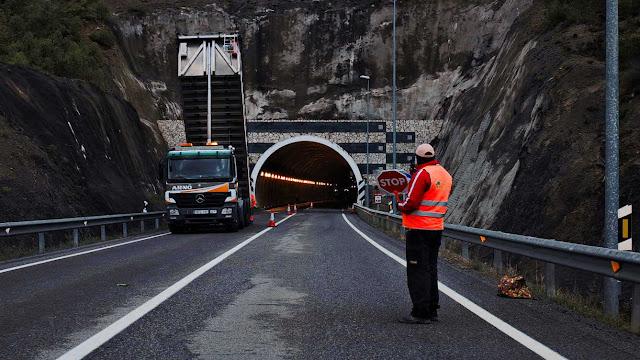 Obras en el túnel