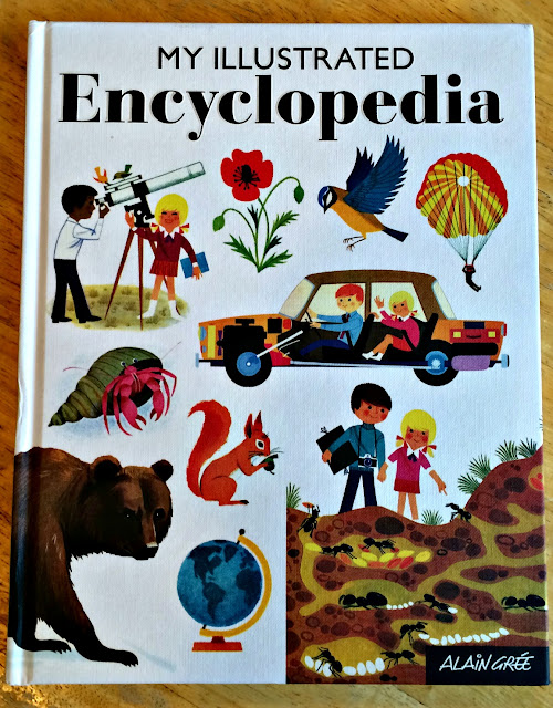 front cover of the book my illustrated encyclopedia for children
