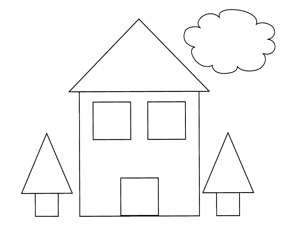 Brinquedos De Papel: Casa