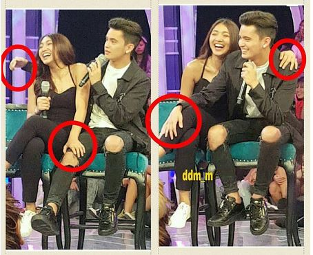 James And Nadine's Touchy Moments On GGV Go Viral! You Have To See This!