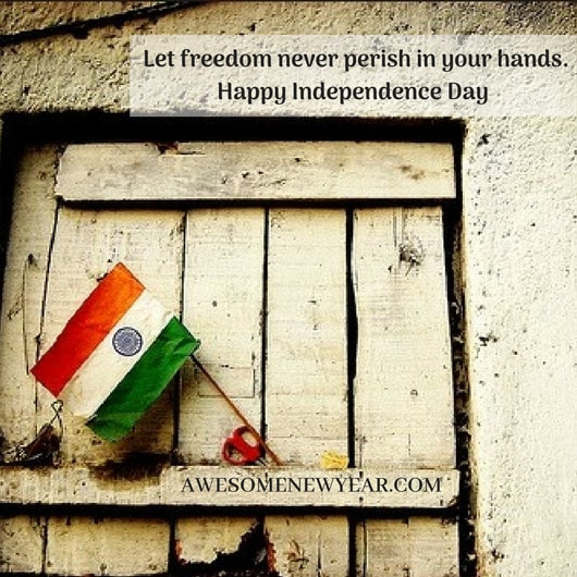 Happy 72nd Independence Day Quotes with Images 2018