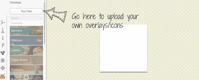 PicMonkey- YOUR OWN OVERLAYS