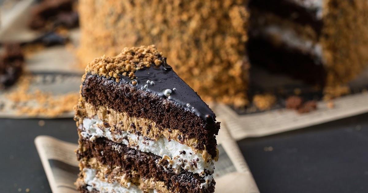 Как сделать торт без какао 432