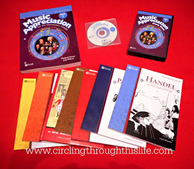 Amazing and wonderful  complete homeschool music curriculum  #hsreviews Circling Through This LIfe