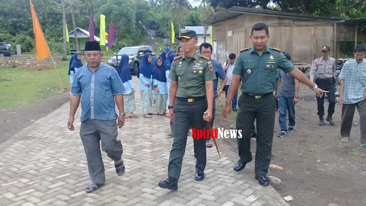 Kolonel Inf Suwarno, Silaturahmi Dilokasi Kunjungan Kerja Wapres Jusuf Kalla