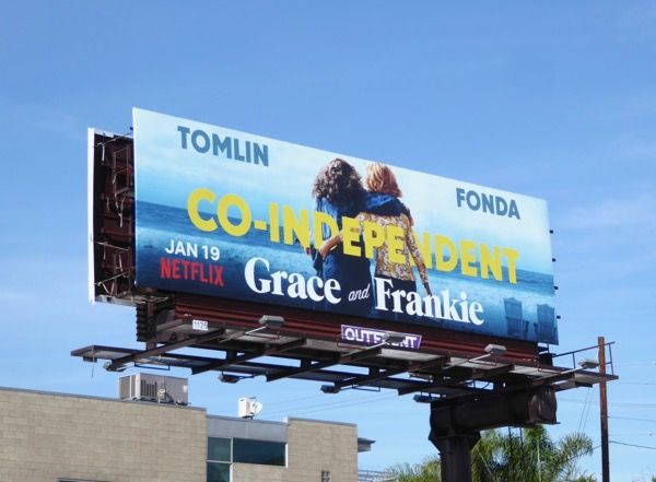Grace and Frankie season 4 billboard