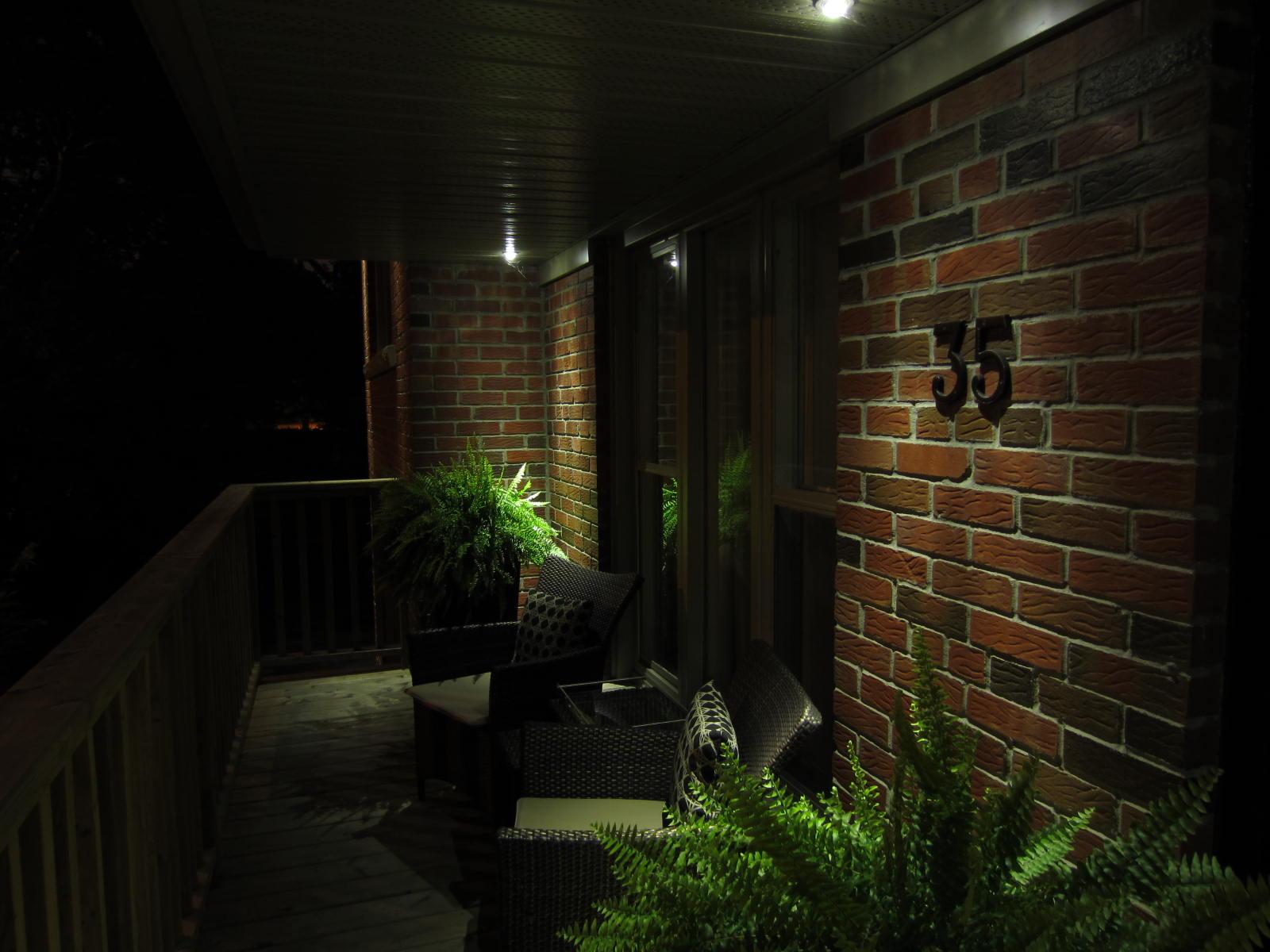 led recessed soffit lighting potlights