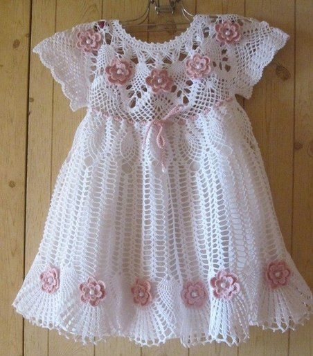 ... it is to make this beautiful dress in crochet patterns FREE PATTERNS