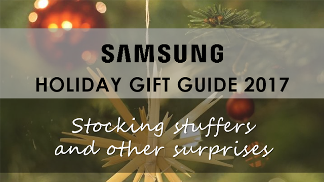 Samsung Holiday Gift Guide 2017
