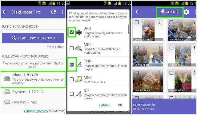 Cara Mengembalikan Poto Yang Terhapus Pada Smartphone 4