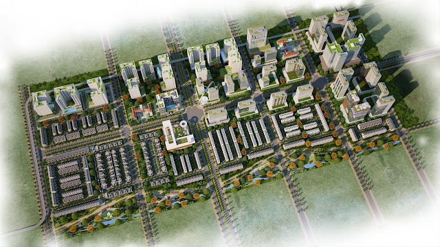 Dự án khu đô thị vườn Midori Park