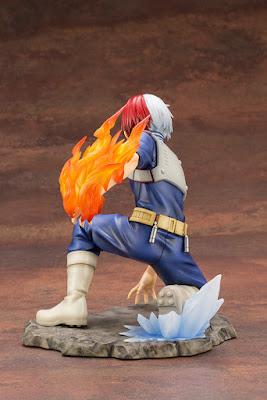 "Figuras: Imágenes y detalles de la ARTFX J Shouto Todoroki de ""Boku no Hero Academia"" - Kotobukiya"