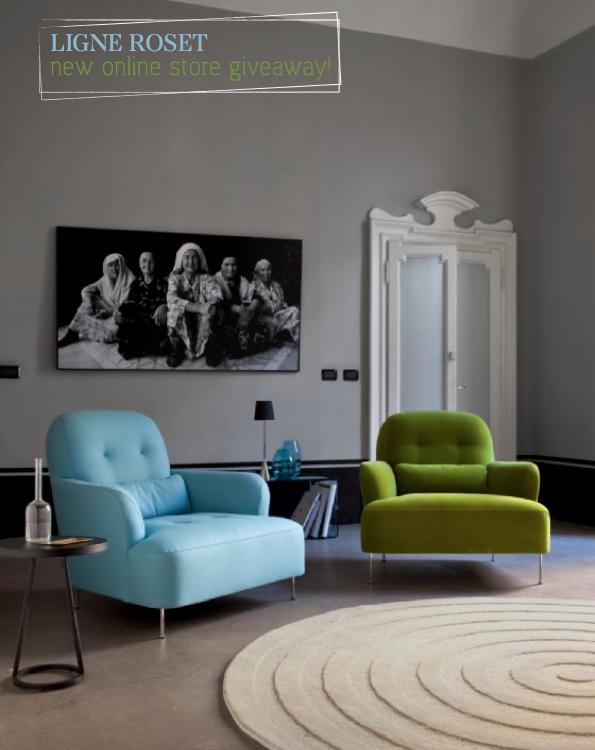 bright bazaar ligne roset lighting giveaway. Black Bedroom Furniture Sets. Home Design Ideas