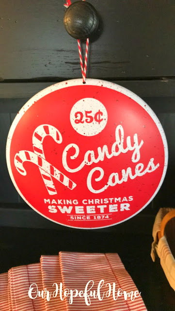 25 cent candy cane making Christmas sweeter ornament