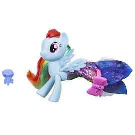My Little Pony Land & Sea Fashion Style Rainbow Dash Brushable Pony