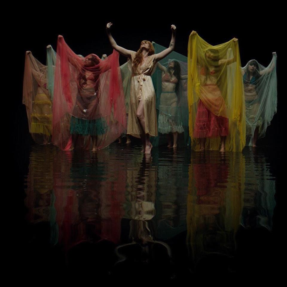 Florence + the Machine premiere \'Big God\' video - Caesar Live N Loud