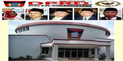 Paripurna DPRD Padang Gelar  Pengajuan Hak Angket Baznas