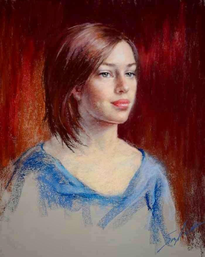 Дар рисовать глаза. Suzy Hart